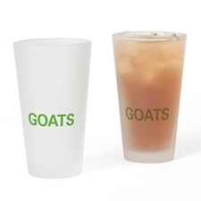 livegoat2 Drinking Glass
