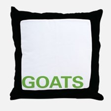 livegoat2 Throw Pillow