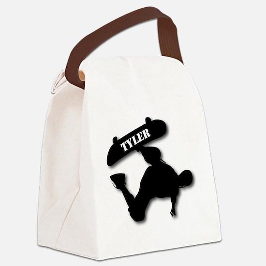 Sk8-T-10x10-TYLER-B Canvas Lunch Bag