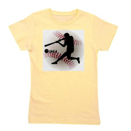iHit Baseball Girl's Tee