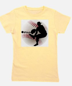 iPitch Baseball Girl's Tee
