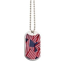 flag441_iphone_case Dog Tags