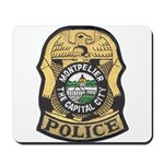 Montpelier Police Mousepad