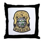 Montpelier Police Throw Pillow