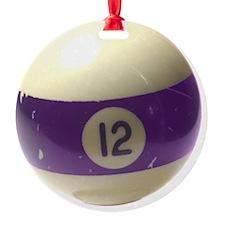 12 ball ornament Ornament