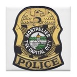 Montpelier Police Tile Coaster