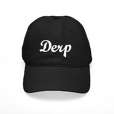 Derp-white Baseball Hat