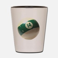 14 ball ornament Shot Glass
