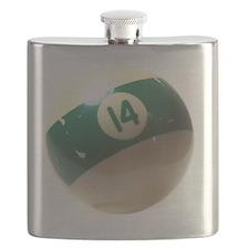 14 ball ornament Flask