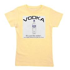 vodka shirt copy Girl's Tee
