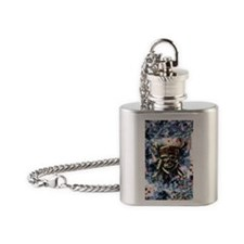 Carribbean_Moon_14x10 Flask Necklace