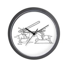 Cute Trombone Wall Clock