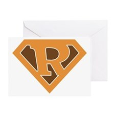 superorange_r Greeting Card