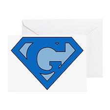 superblue_g Greeting Card
