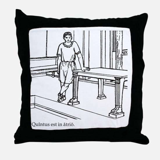 Quintus_3 Throw Pillow