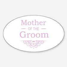 Mother of the Groom pink Decal