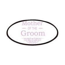 Mother of the Groom pink Patches