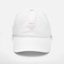 Mother of the Groom pink Baseball Baseball Cap