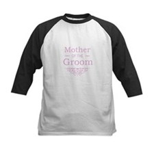 Mother of the Groom pink Baseball Jersey