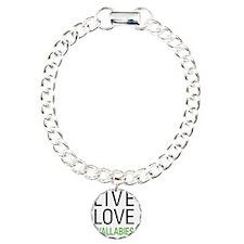 livewallaby Charm Bracelet, One Charm