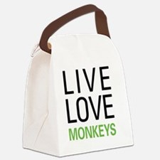 livemonkey Canvas Lunch Bag