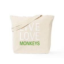 livemonkey2 Tote Bag