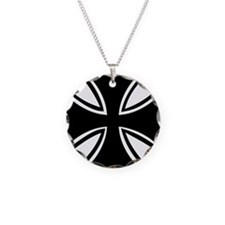 iron_cross_outline Necklace