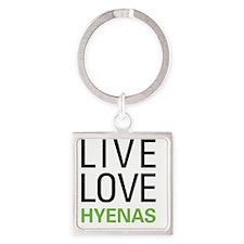 livehyena Square Keychain