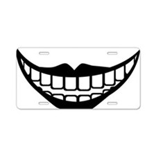 ugly_lol Aluminum License Plate