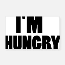 im_hungry Rectangle Car Magnet