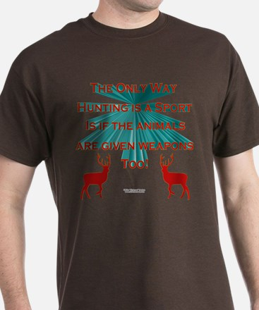 Anti-Hunting T-Shirt