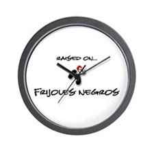 Raised on... Frijoles Negros Wall Clock