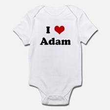 I Love Adam Infant Bodysuit