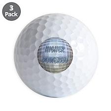 Higher Powered Golf Ball