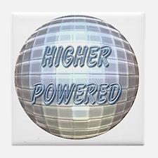 Higher Powered Tile Coaster