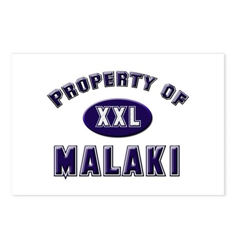 Property of malaki Postcards (Package of 8)