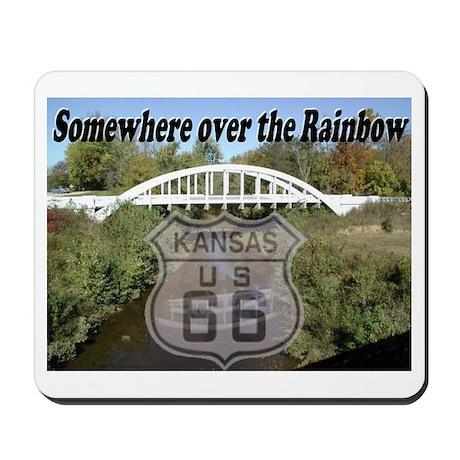 Mousepad with image of Rainbow Bridge