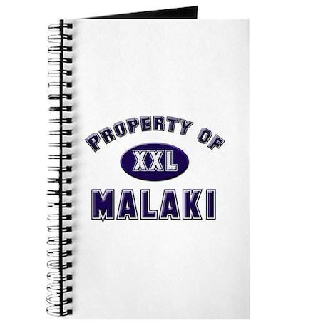 Property of malaki Journal
