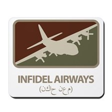 Infidel Airways (C-130) Mousepad