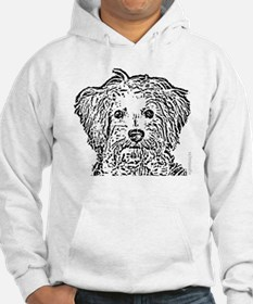 Schnoodle_bw Hoodie