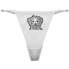 Schnoodle_bw Classic Thong