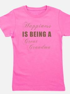 Happiness_GreatGrandma Girl's Tee