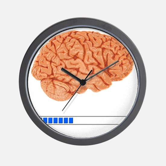Brain Loading b Wall Clock