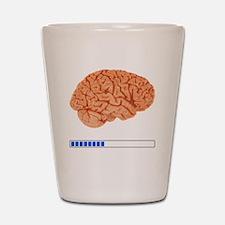 Brain Loading b Shot Glass