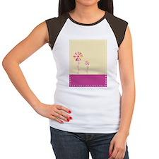 Bloom Women's Cap Sleeve T-Shirt