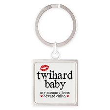 Twihard Baby Square Keychain