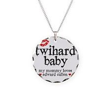 Twihard Baby Necklace Circle Charm