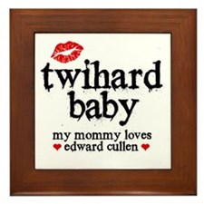 Twihard Baby Framed Tile