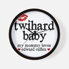 Twihard Baby Wall Clock
