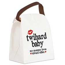 Twihard Baby Canvas Lunch Bag